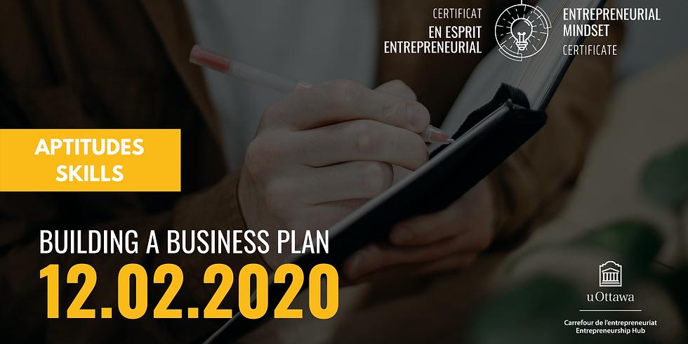 EMC: Building a Business Plan   CEE: Rédiger un plan d'affaires