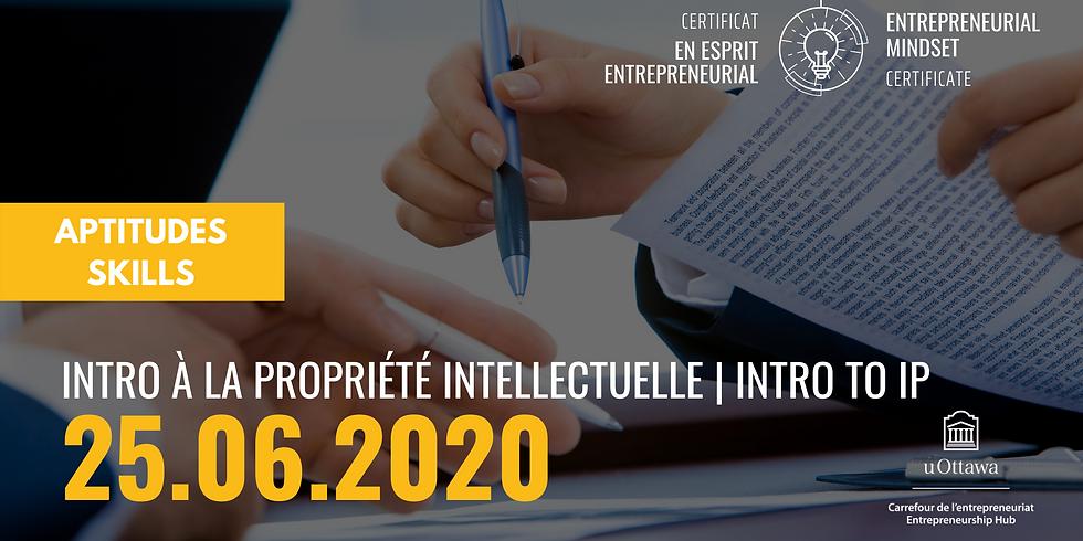 CEE: Introduction à la propriété intellectuelle   EMC: Introduction to IP