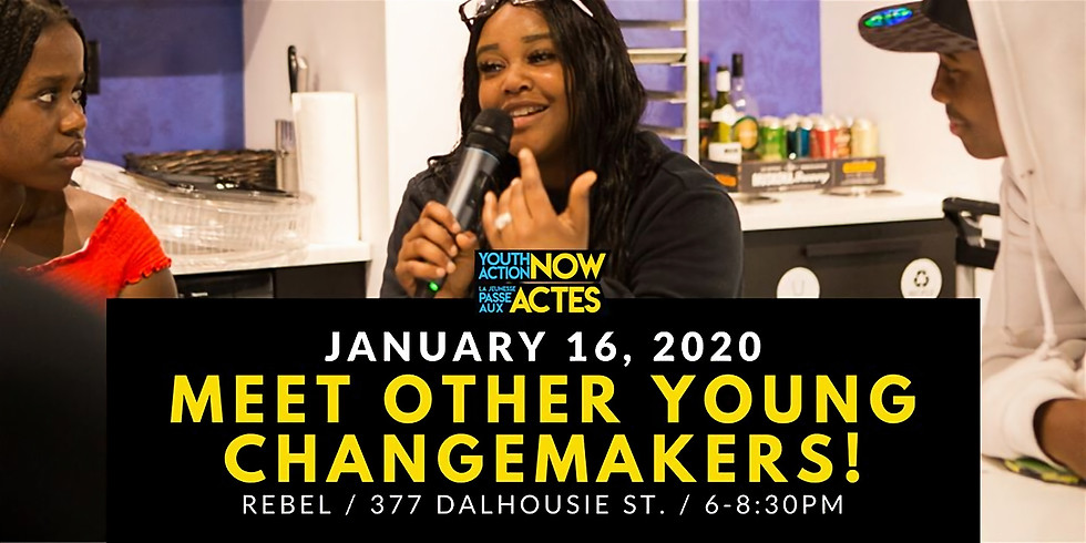 January: Meet Other Young Changemakers!
