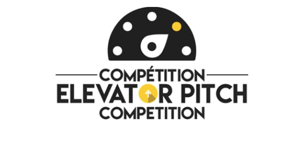 2020 Compétition Elevator Pitch Competition