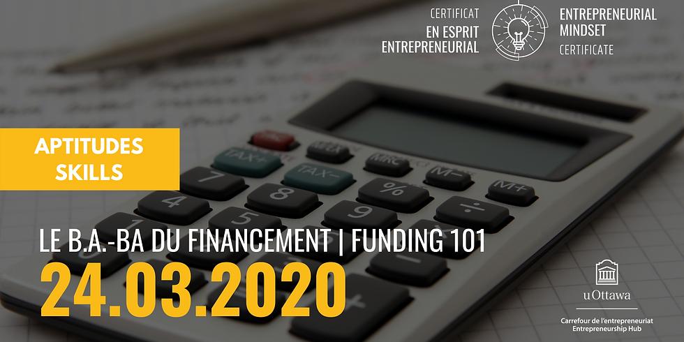 EMC: Funding 101   CEE: Le b.a-ba du financement