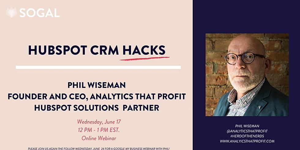 HubSpot Productivity Hacks with Phil Wiseman [Indiana]