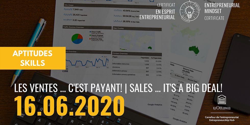 CEE: Les ventes... c'est payant!   EMC: Sales...It's a Big Deal!