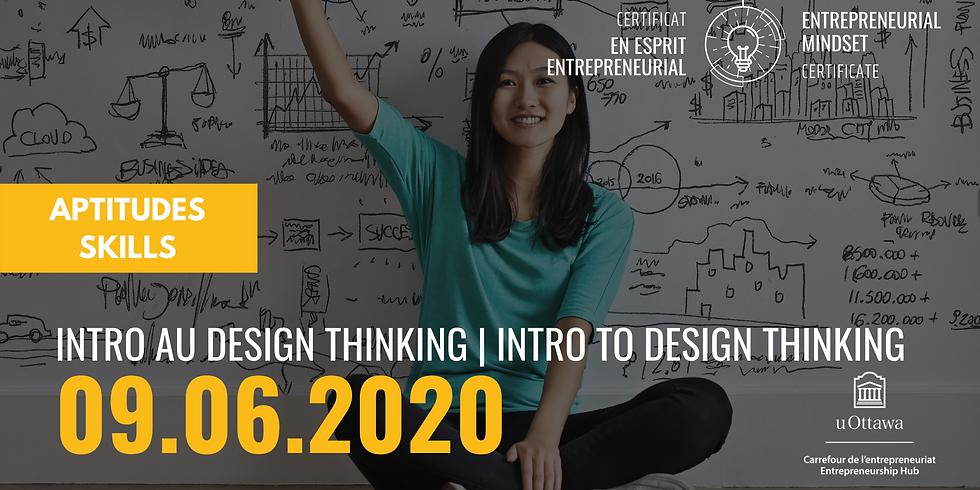 CEE: Intro au design thinking | EMC: Intro to Design Thinking