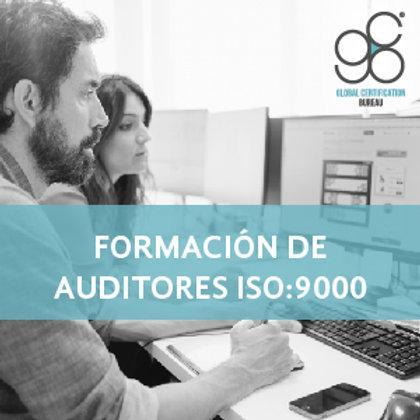 Formación de Auditores ISO:9000