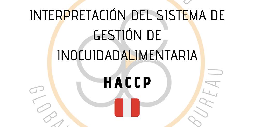 ¡Perú! Interpretación del Sistema de Gestión de Inocuidad Alimentaria (HACCP)
