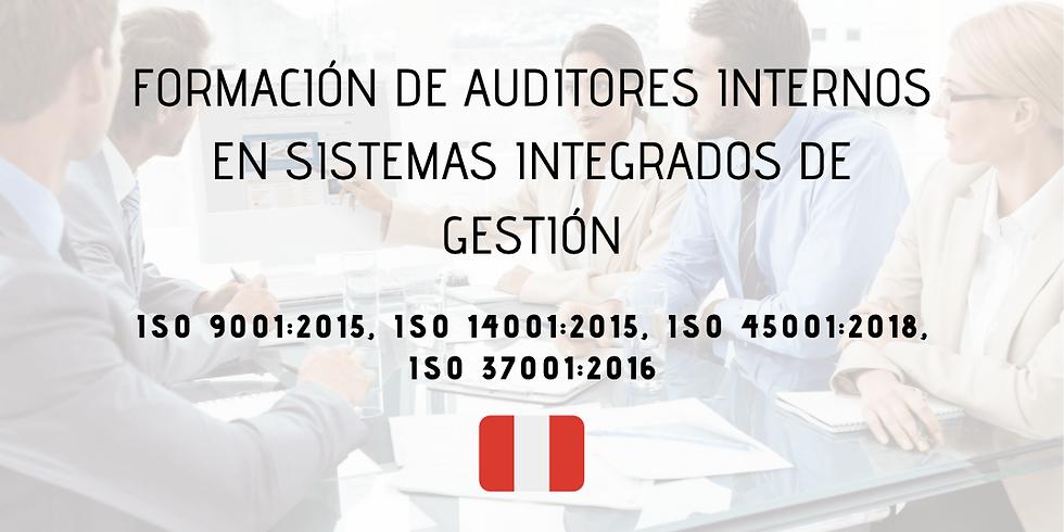 ¡Perú! Formación de Auditores Internos en Sistemas Integrados de Gestión