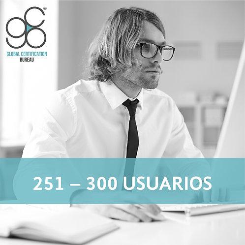 251-300 Usuarios