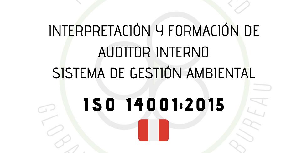 ¡Perú! Interpretación y Formación de Auditor Interno Sistema de Gestión Ambiental (ISO 14001:2015)