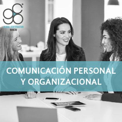 Comunicación Personal y Organizacional