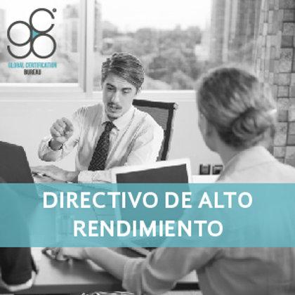 Diplomado Directivo de Alto Rendimiento