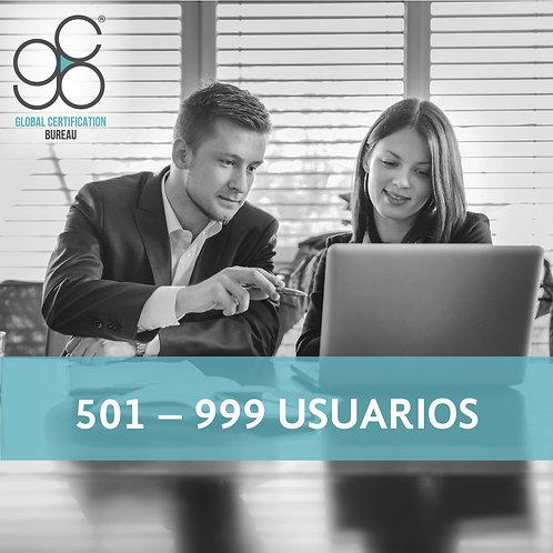 501-999 Usuarios