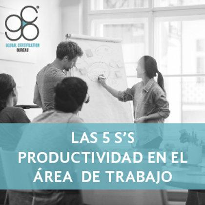 Las 5 S's Productividad en el Área de Trabajo