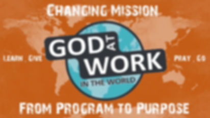 Missions 2019 God At Work In The World 1