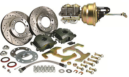 1955-59 6-Lug Chevy Truck Complete Brake, kit