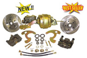 67-69 Chevrolet Camaro Front Disc Brake Conversion w/ Booster