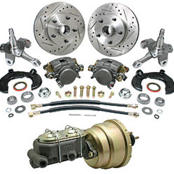 Mustang II Complete Disc Brake Kit 5x4.5'' Bolt Pattern