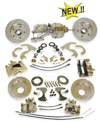 65-66 Chevrolet Impala Complete Front and Rear Disc Brake Kit