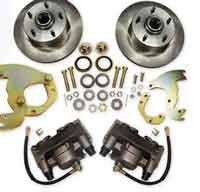 60-73 Chrysler Front Disc Brake Wheel Kit
