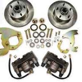60-73 Chrysler Front Disc Brake Wheel Kit