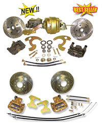 62-74 Chevrolet Nova Front and Rear Disc Brake Conversion Combo