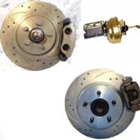 64-70 Mustang Complete BIG BRAKE KIT Front / Rear / Booster
