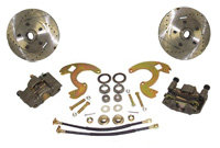 62-74 Chevrolet Nova Front Disc Brake Conversion Wheel Kit