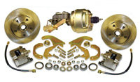 58-64 Chevrolet Impala Front Disc Brake Kit w/ Booster Combo