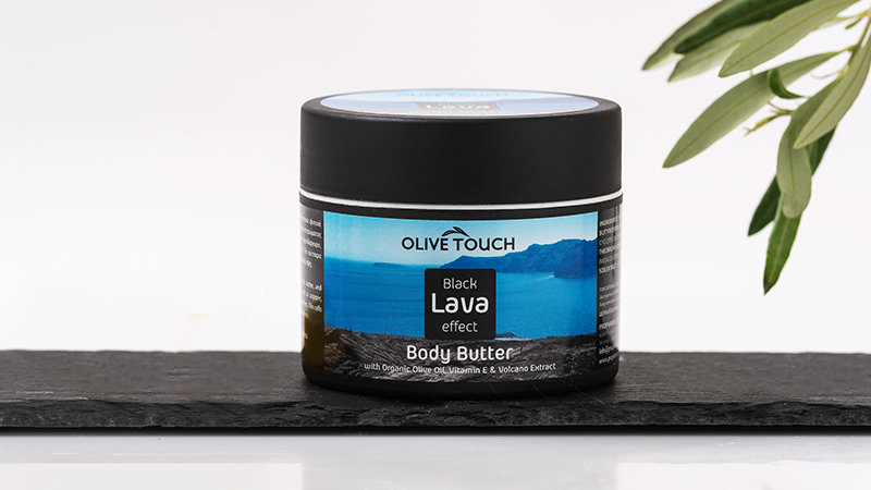 Black Lava Effect Body Butter 100ml