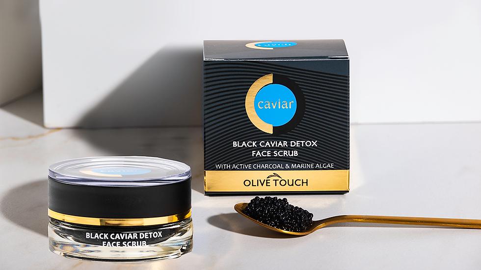 Black Caviar Detox Face Scrub & Serum 15ml