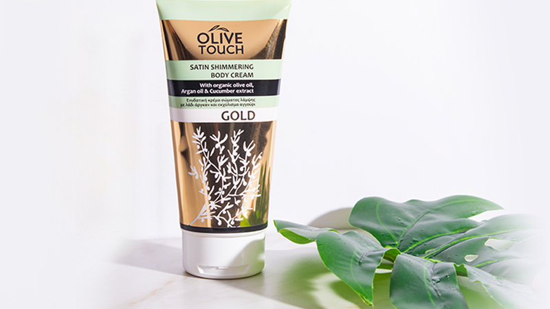 Satin Shimmering Body Cream Gold 200ml