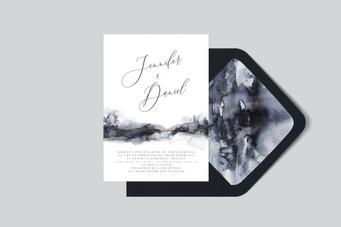 5x7 Greeting cards and envelopes - Mocku
