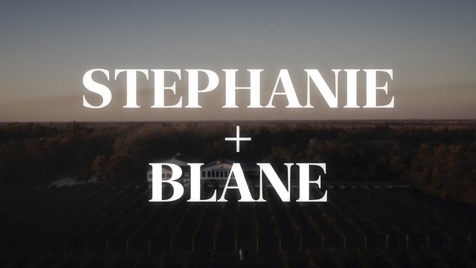 Stephanie + Blane