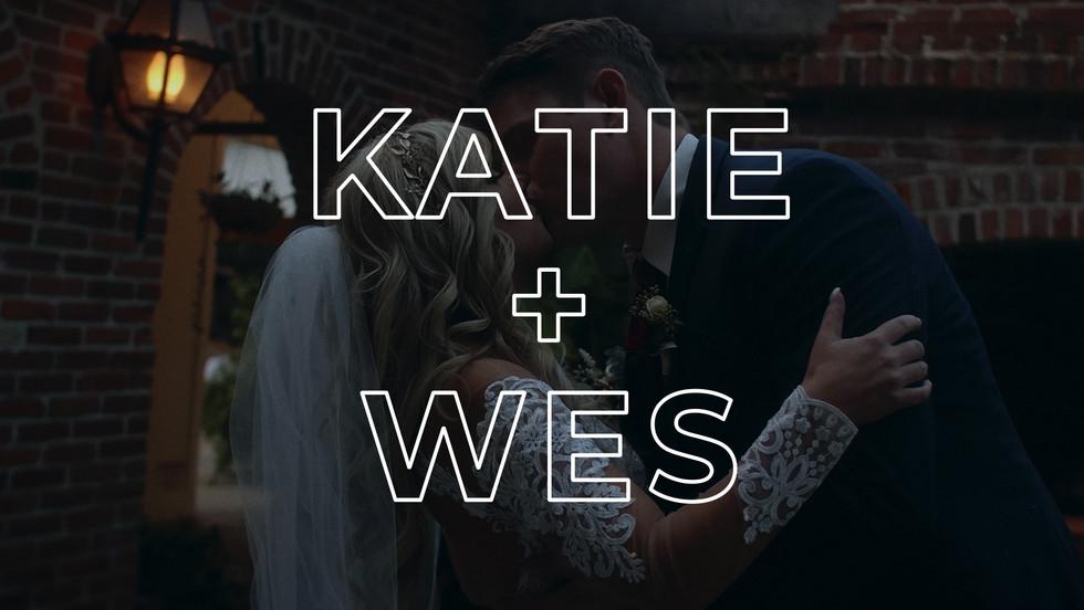 KATIE + WES