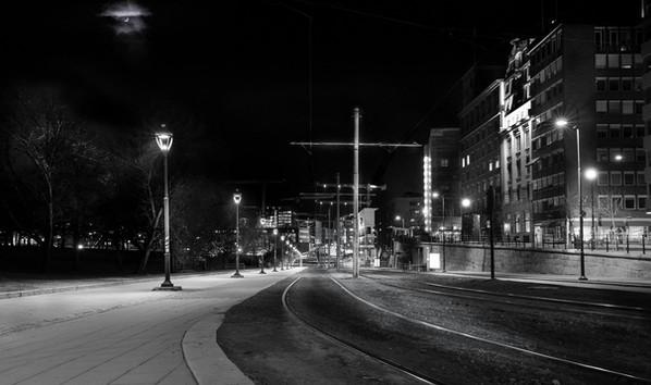 Oslo by night