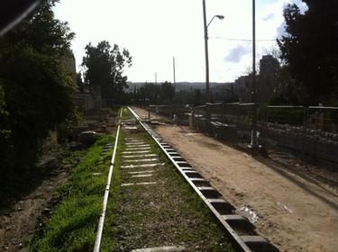הקמת פארק המסילה