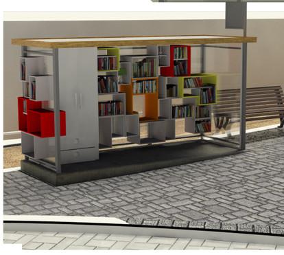 ספרייה במושבה