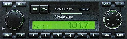 Skoda Symphony radio code
