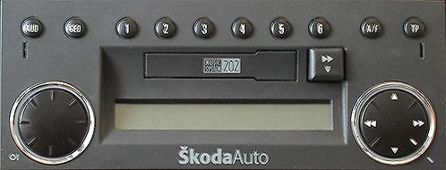 Skoda Music System radio code