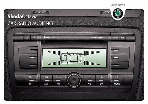 Skoda radio Audience radio code