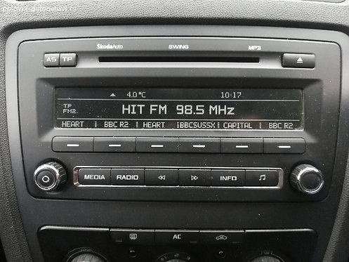 Skoda Swing radio code