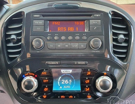 Juke Daewoo radio