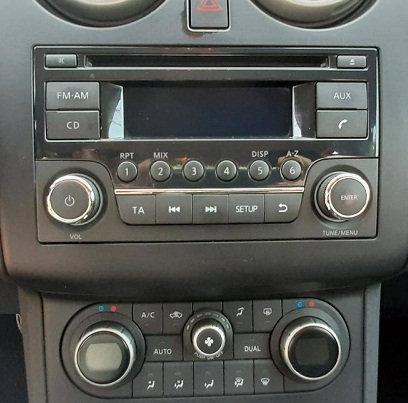 Nissan Qashqai Daewoo Radio code