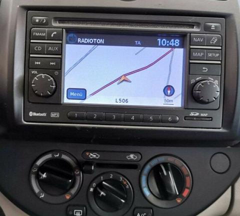 Note Bosch radio