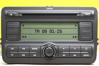 Skoda Dance radio code