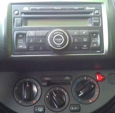 Note Clarion radio