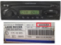 Land rover visteon 6500 cd radio code