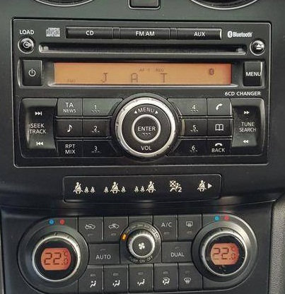 Nissan Qashqai Clarion Radio code v2