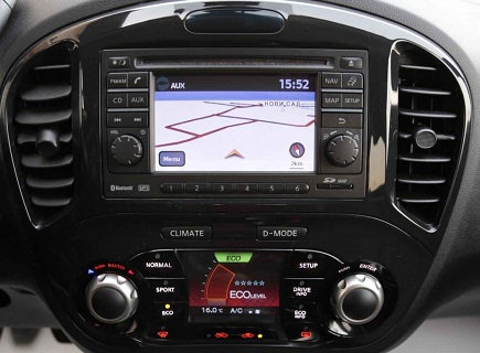 Juke Bosch navigation