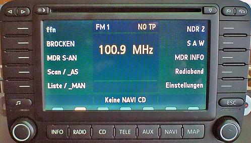 Skoda RNS-N radio code